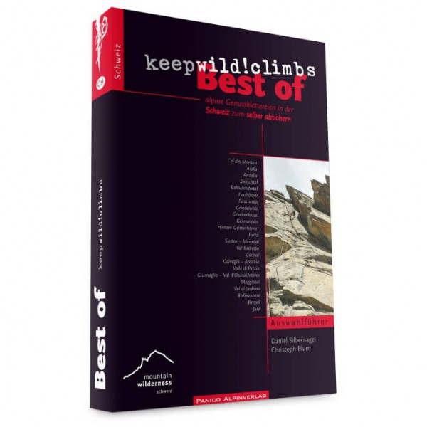 "Panico Alpinverlag - ""Best of keepwild"" Kletterführer"