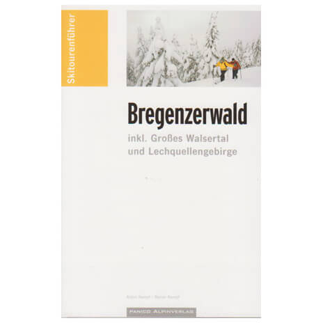 Panico Verlag - Skitourenführer Bregenzer Wald