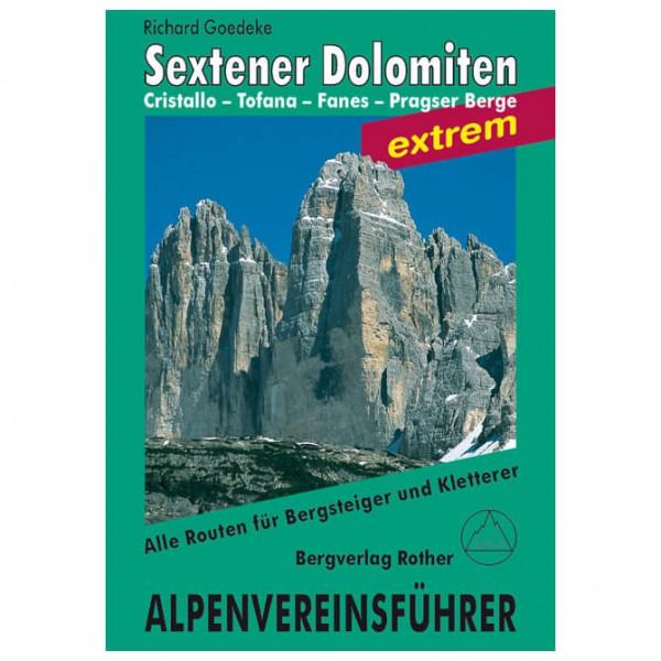 Bergverlag Rother - Alpenvereinsführer Dolomiten Sextener Dolomiten ex - Alpinistengidsen