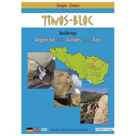 Gebro-Verlag - Boulderführer ''Tinos Bloc'' - Boulderingförare