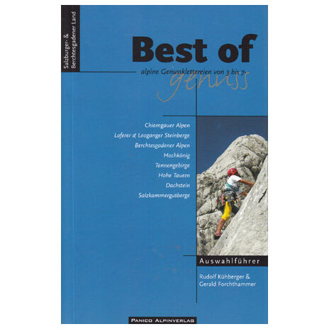 "Panico Verlag - """"Best of Genuss"""" Band 1 - Guides d'escalad"