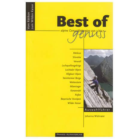 Panico Verlag - Best of Genuss Band 2 - Guides d'escalade