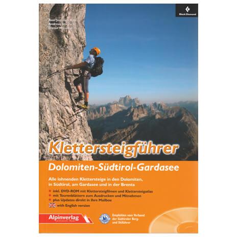 Alpinverlag - ''Dolomiten-Südtirol-Gardasee'' - Via Ferrata guide