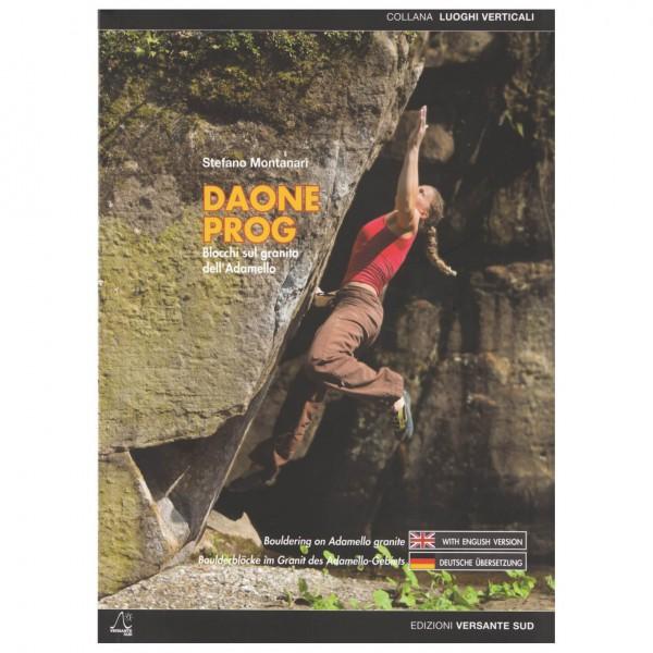 Versante Sud - Boulderblöcke im Granit des Adamello-Gebiets - Boulderingförare
