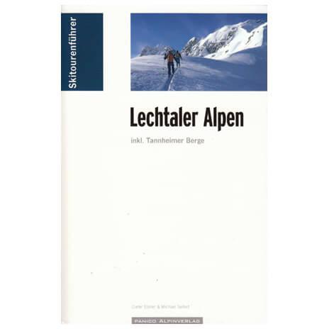 Panico Verlag - Lechtaler Alpen - Hiihtoretkioppaat