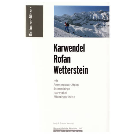 "Panico Verlag - """"Karwendel, Rofan, Wetterstein"""" - Skitours"