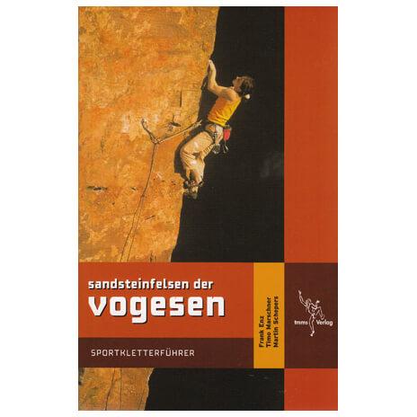 tmms-Verlag - Sandsteinfelsen der Vogesen - Klimgids