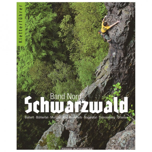 Panico Alpinverlag - 'Schwarzwald Band Nord'' - Kiipeilyoppaat