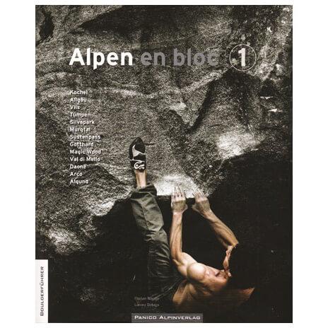 Panico Verlag - Alpen en bloc (Band 1) - Topos bouldering