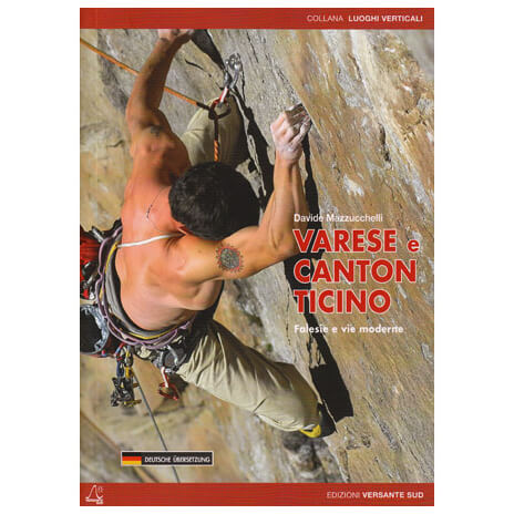 Versante Sud - Varese e Canton Ticino - Kletterführer