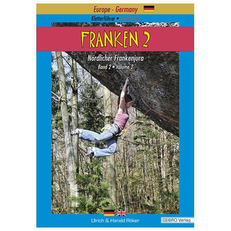 """Gebro-Verlag - """"""""Franken 2"""""""" Auflage 2 - Guides d'escalade"""
