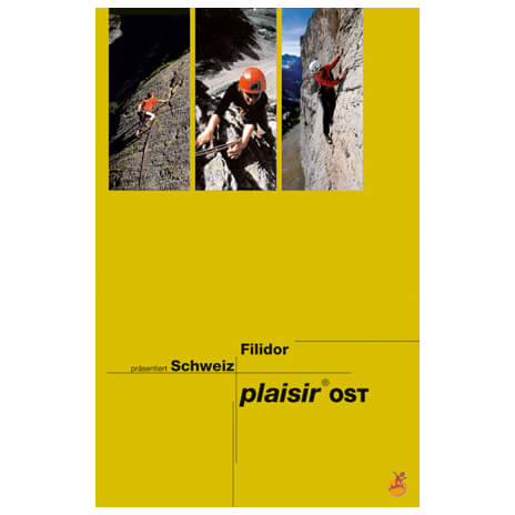 Edition Filidor - Schweiz Plaisir Ost - Guides d'escalade