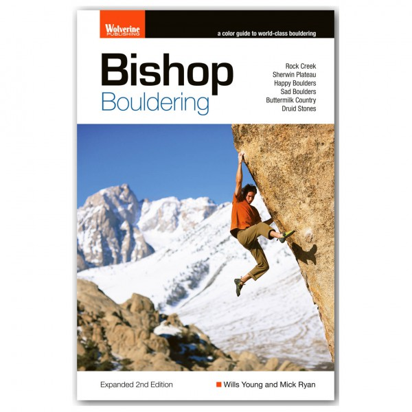 Wolverine Publishing - Bishop Bouldering - Bouldering guides