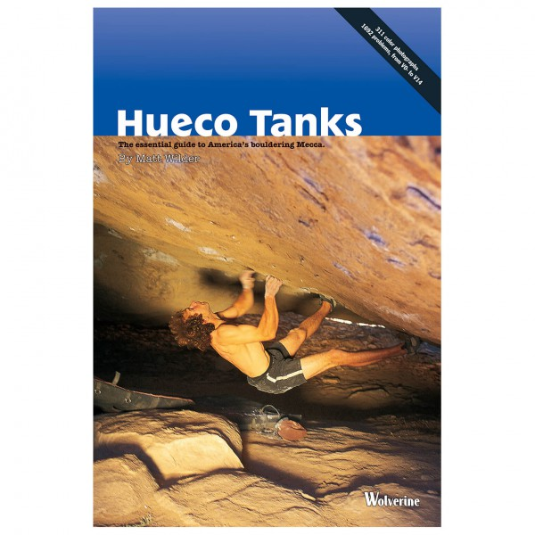 Wolverine Publishing - Hueco Tanks - Boulderointioppaat