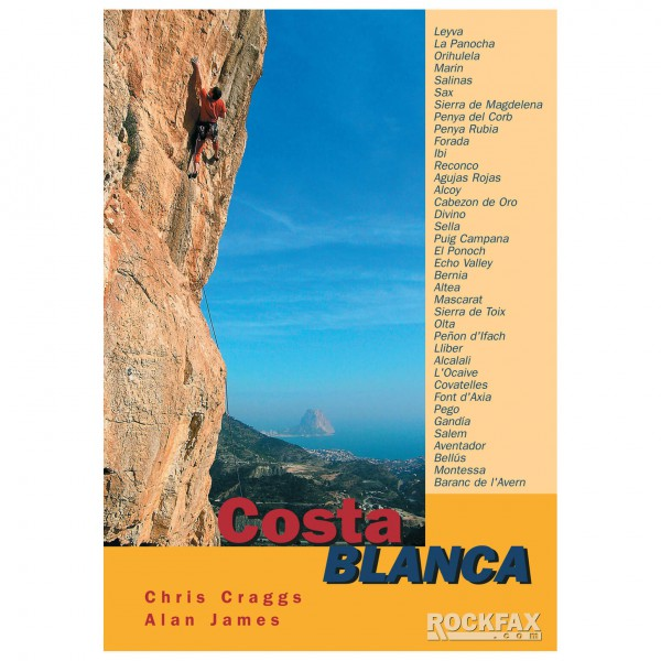 Rockfax - Costa Blanca - Climbing guides