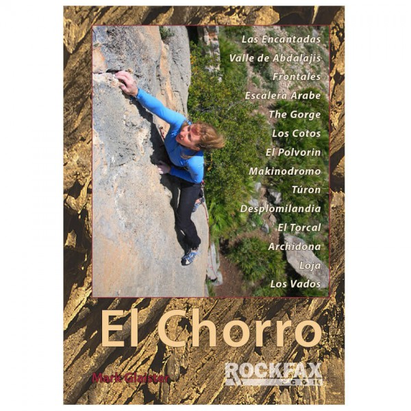 Rockfax - El Chorro - Kiipeilyoppaat