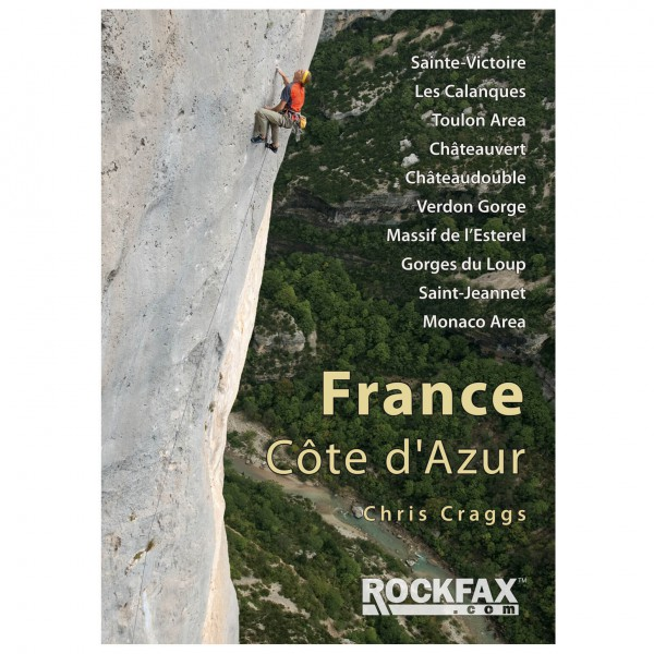 Rockfax - France Cote d'Azur - Climbing guides