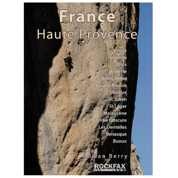 Rockfax - France Haute Provence - Climbing guides