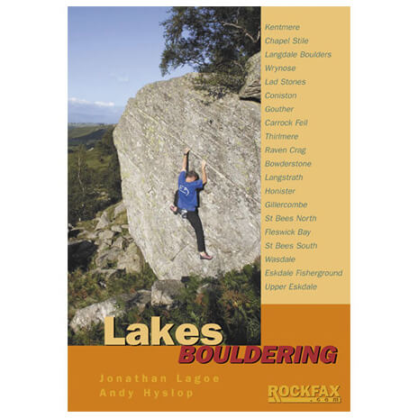Rockfax - Lakes Bouldering - Boulderointioppaat