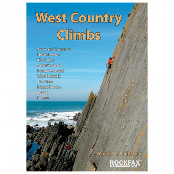 Rockfax - Western Country Climbs - Kiipeilyoppaat