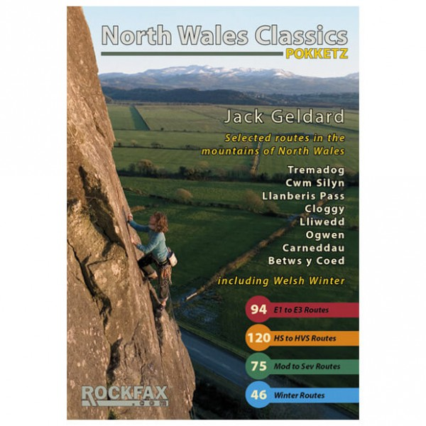 Rockfax - North Wales Classics - Guides d'escalade