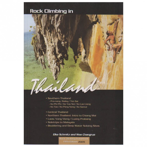Rock Climbing in Thailand and Laos - Kletterführer