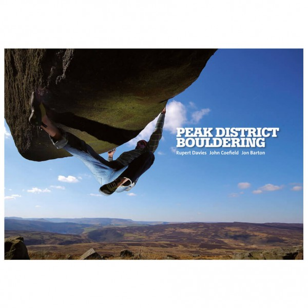 Vertebrate Publishing - Peak District Bouldering - Bouldering guide