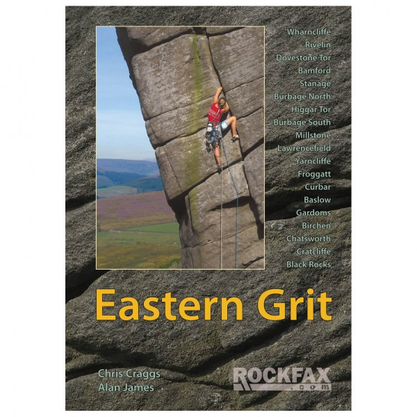 Rockfax - Eastern Grit - Climbing guides