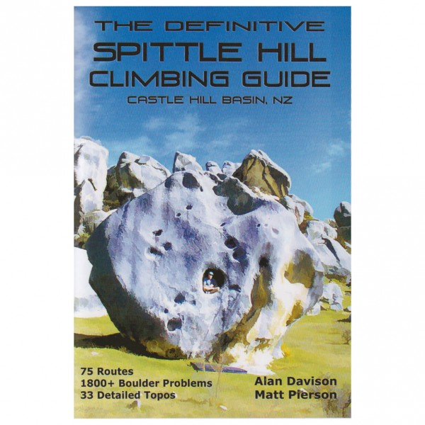 Cordee - The Definitive Spittle Hill Climbing Guide - Climbing guide