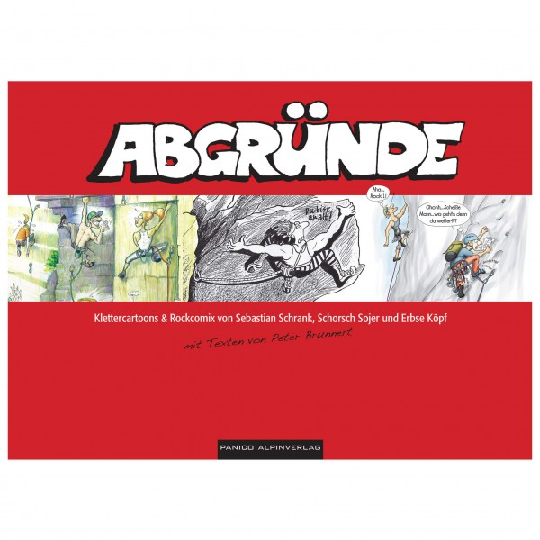 Panico Alpinverlag - Abgründe - Klettercomic