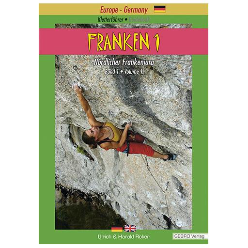 Gebro-Verlag - Franken 1 - Kiipeilyoppaat