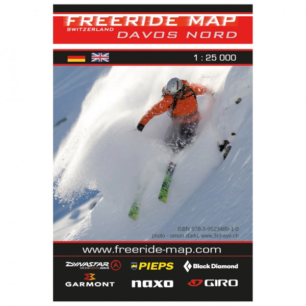 FRM - Freeride Map - Switzerland Davos Nord