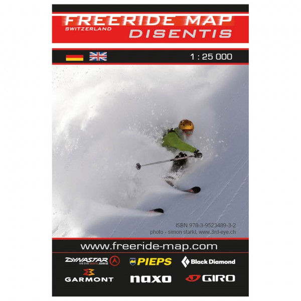 FRM - Freeride Map - Switzerland Disentis