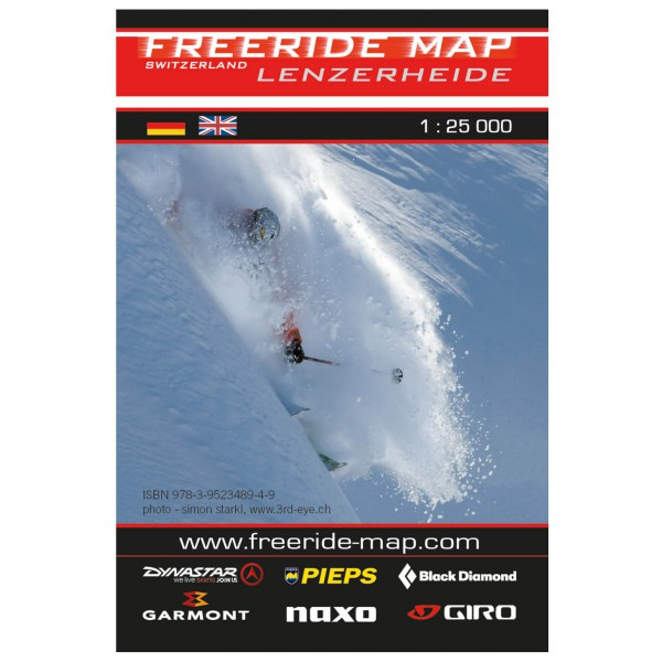 FRM - Freeride Map - Switzerland Lenzerheide