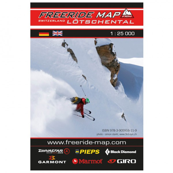 FRM - Freeride Map - Switzerland Lötschental