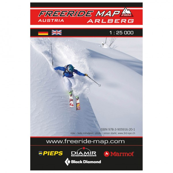FRM - Freeride Map - Ski- og snøskoturer