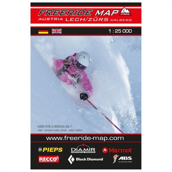 FRM - Freeride Map - Austria Lech / Zürs Arlberg