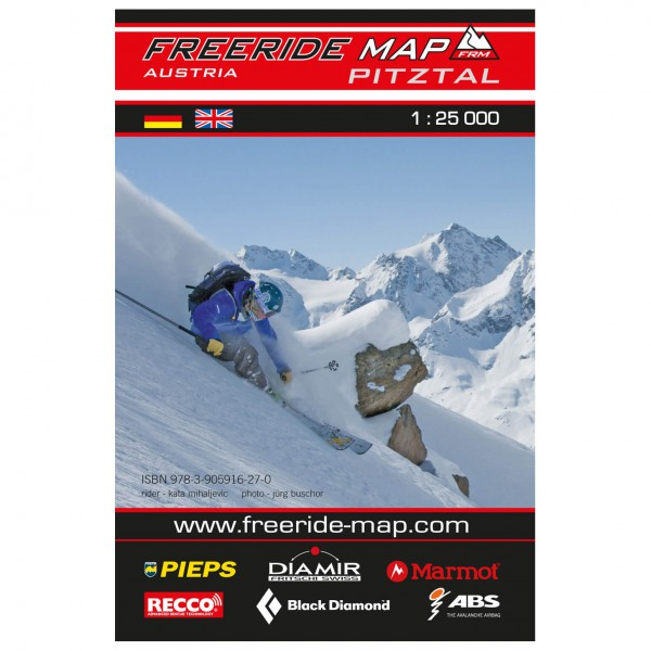 FRM - Freeride Map - Austria Pitztal