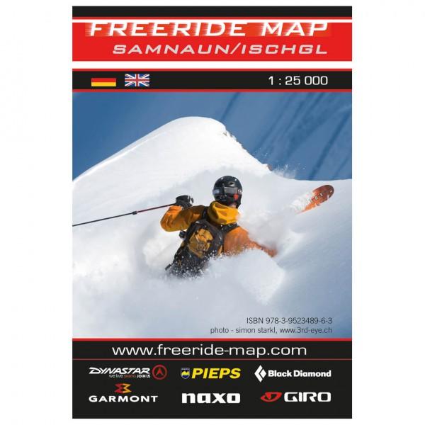 FRM - Freeride Map - Austria Ischgl / Samnaun