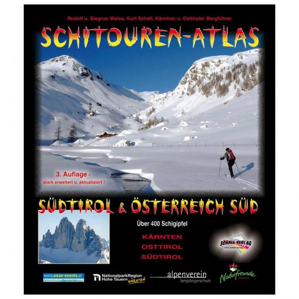 Schall-Verlag - Schitouren-Atlas Südtirol & Österreich Süd - Skidtursguider
