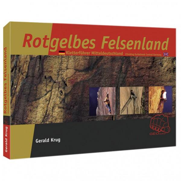 Geoquest-Verlag - Rotgelbes Felsenland - Klatreguide