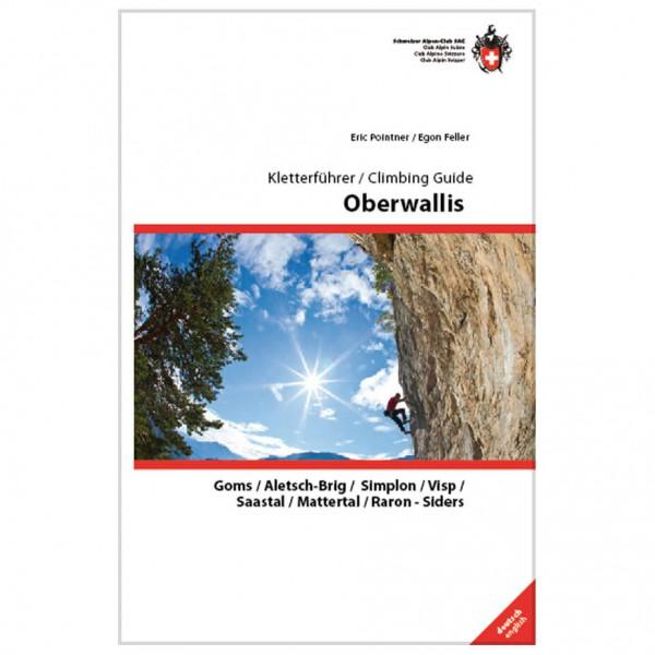 SAC-Verlag - Kletterführer Oberwallis - Guías de escalada