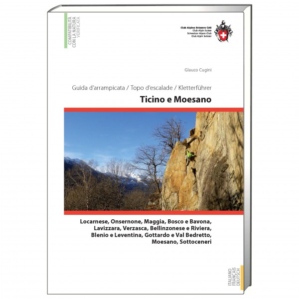 SAC-Verlag - Kletterführer Tessin / Ticino e Moesano - Klatreguide