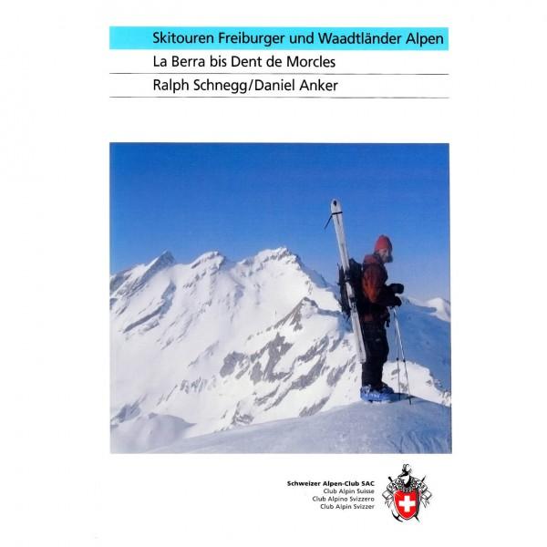 SAC-Verlag - Skitouren Freiburger und Waadtländer Alpen - Toerskigids