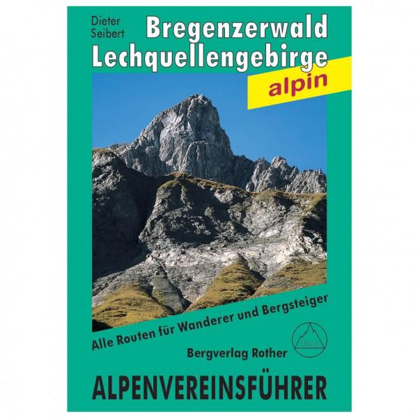 Bergverlag Rother - Bregenzerwald- und Lechquellengebirge - Alpine Club guide