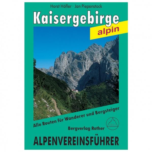 Bergverlag Rother - Kaisergebirge Alpin