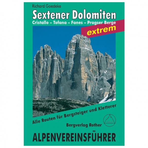 Bergverlag Rother - Sextener Dolomiten Extrem - Alpenvereinsführer