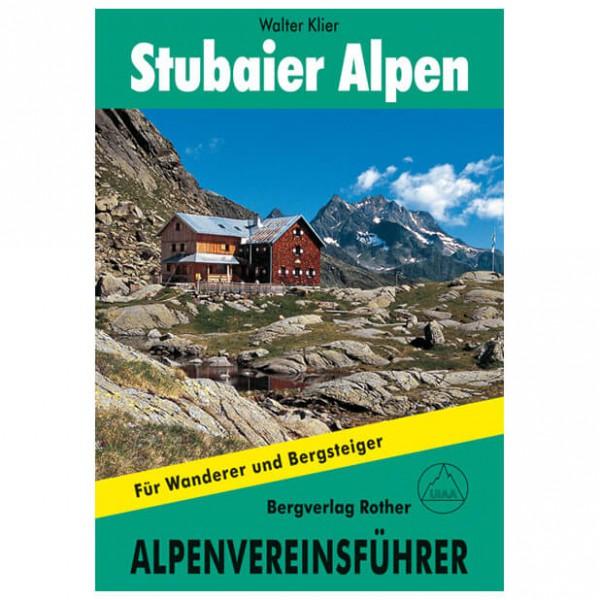 Bergverlag Rother - Stubaier Alpen Alpin - Alpina klätterförare