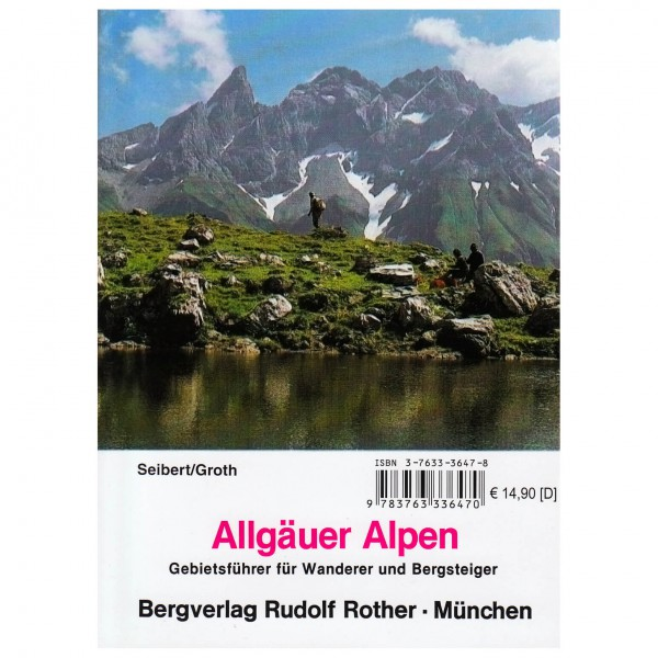 Bergverlag Rother - Gebietsführer Allgäuer Alpen