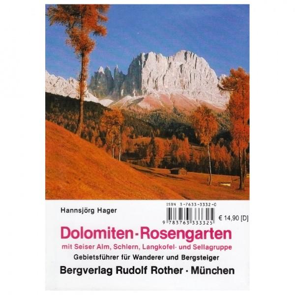 Bergverlag Rother - Gebietsführer Rosengartengruppe